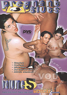 Pregnant Sluts Volume 5 Box Cover