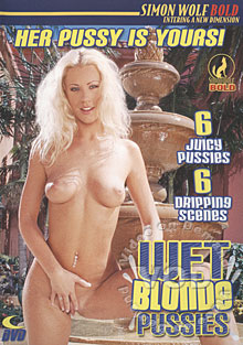Wet Blonde Pussies Box Cover