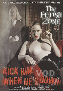 The Fetish Zone #1 - Kick Him When He's Down