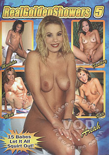 Real Golden Showers 5 Box Cover