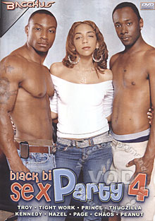 Black Bi Sex Party 4 Box Cover