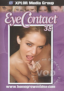 Eye Contact 35 Box Cover