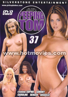 The Video Adventures of Peeping Tom #37 Box Cover - Login to see Back