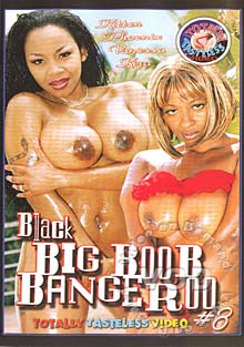 Black Big Boob Bangeroo #8 Box Cover