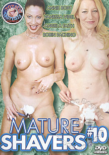 Mature Shavers #10 Box Cover