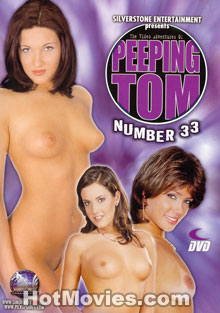 The Video Adventures of Peeping Tom #33 Box Cover