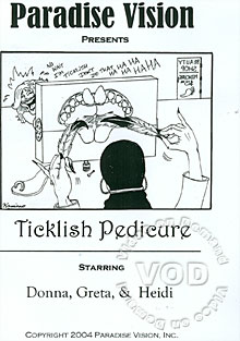 Ticklish Pedicure Box Cover