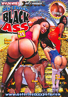 My Thick Black Ass #25 Box Cover