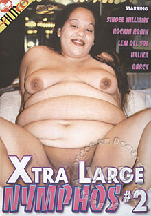 Xtra Large Nymphos #2 Box Cover