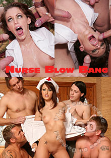 Nurse Blow Bang Box Cover