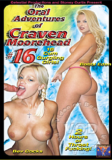 The Oral Adventures of Craven Moorehead #16 Box Cover