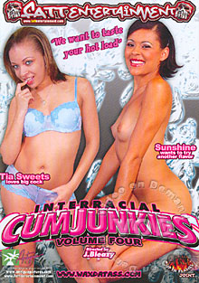 Interracial Cum Junkies 4 Box Cover