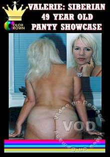 Valerie - Siberian 49 Year Old Panty Showcase Box Cover