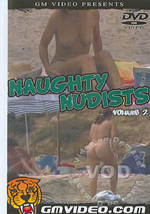 Naughty Nudists Volume 2 Box Cover