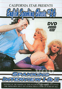 English Spanking Classic #26: Spanking Interviews I & II Box Cover