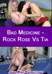 Bad Medicine - Rock Rose Vs Tia Box Cover