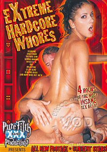 Extreme Hardcore Whores Box Cover