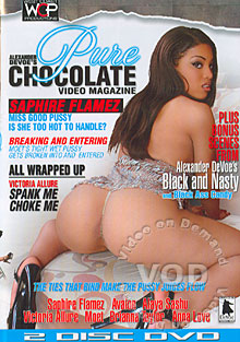Pure Chocolate Video Magazine Box Cover