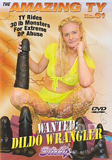 The Amazing Ty No. 61 - Wanted: Dildo Wrangler Box Cover