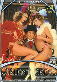 Lust On The Orient Express Box Cover