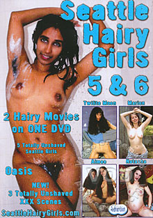 Seattle Hairy Girls 5 & 6 Box Cover