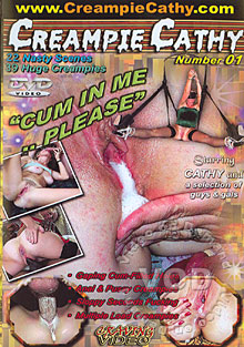Creampie Cathy Number 01 Box Cover