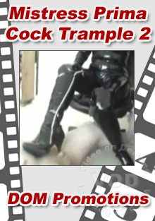Mistress Prima - Cock Trample 2 Box Cover