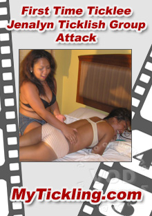 First Time Ticklee Jenalyn Ticklish Group Attack Box Cover