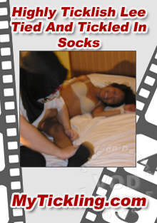 Highly Ticklish Lee Tied And Tickled In Socks Box Cover