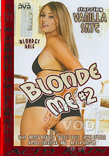 Blonde Me #2 Box Cover