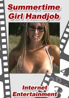Summertime Girl Hand Job Box Cover