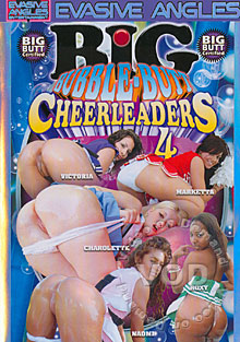 Big Bubble-Butt Cheerleaders 4 Box Cover
