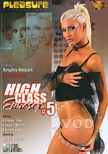 High Class Eurosex #5 Box Cover