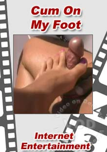 Cum On My Foot Box Cover