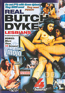 Real Butch Dyke Lesbians Box Cover