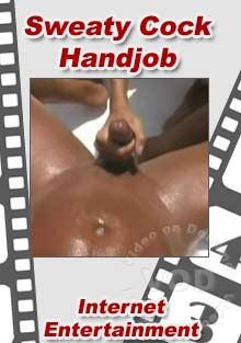 Sweaty Cock Handjob Box Cover