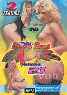 Annaka's Deep Oral Ladies Volume 21 Box Cover
