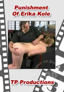 Punishment Of Erika Kole Box Cover