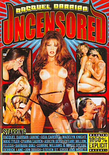 Raquel Darrian Uncensored Box Cover