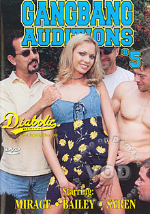 Gangbang Auditions #5 Box Cover