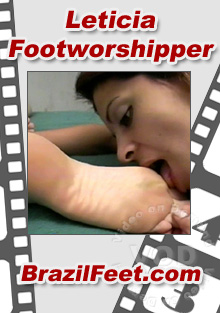 Leticia Footworshipper Box Cover