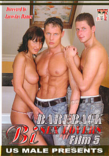 Bareback Bi Sex Lovers Film 5 Box Cover