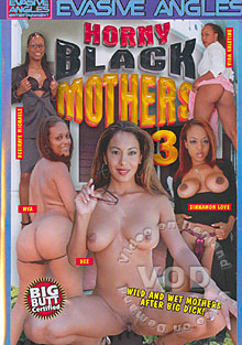 Horny Black Mothers 3 Box Cover - Login to see Back