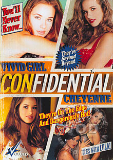 Vivid Girl Confidential - Cheyenne Box Cover