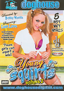 Young Squirts Volume 2 Box Cover