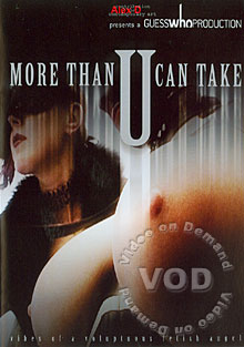 More Than U Can Take Box Cover