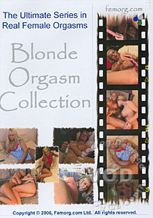 Blonde Orgasm Collection Box Cover
