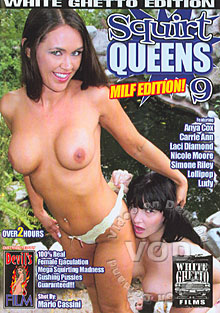 Squirt Queens 9 MILF Edition Box Cover