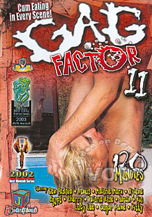 Gag Factor 11 Box Cover