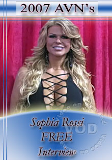 2007 AVN Interview - Sophia Rossi Box Cover